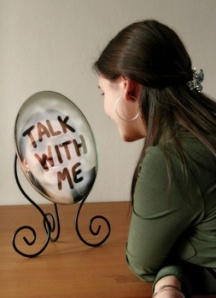 talk to mirror