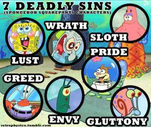 spongebob-theories-seven-deadly-sins