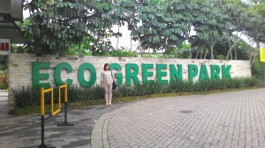 Tampak depan Eco Green Park